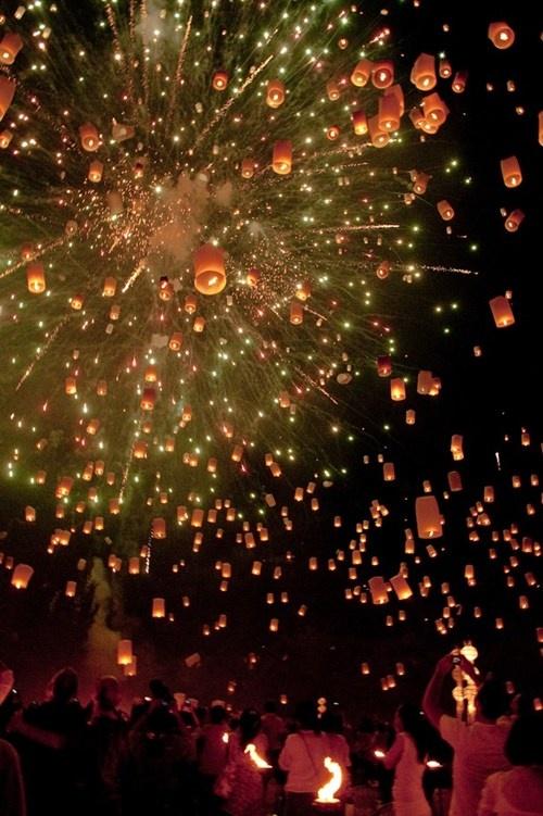 Thailand, new years