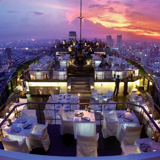 New Years, Banyan Tree, Bangkok