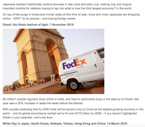 FedEx Newsletter 2017