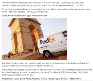 FedEx Newsletter 2017